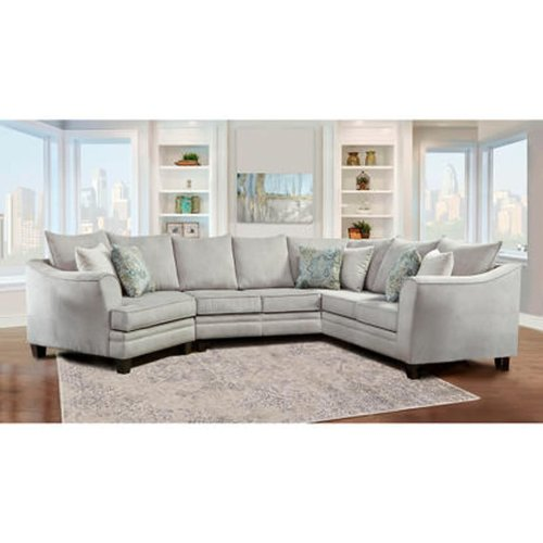 J Furniture Concord 3pc Sectional