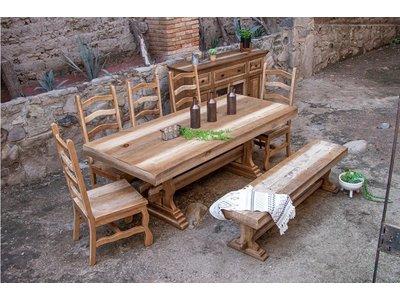 IFD Marquez 7PC Dining Set w/ Bench