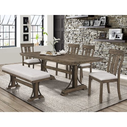 Crown Mark Quincy 5PC dining set