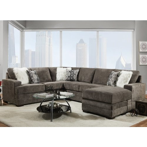 PFC Cloud Charcoal Sectional