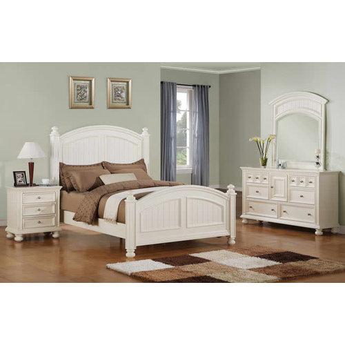 Winner's Cape Cod White Full Bed