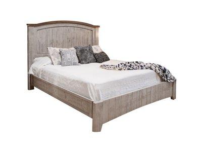 IFD Pueblo Gray King Bed
