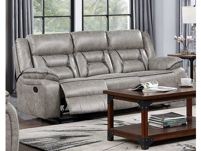 Homelegance Moriarty Dual Reclining Sofa (Beige)