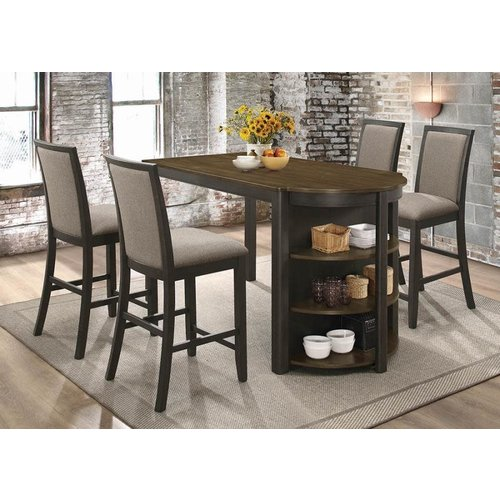 Coaster Allen Table with Shelves
