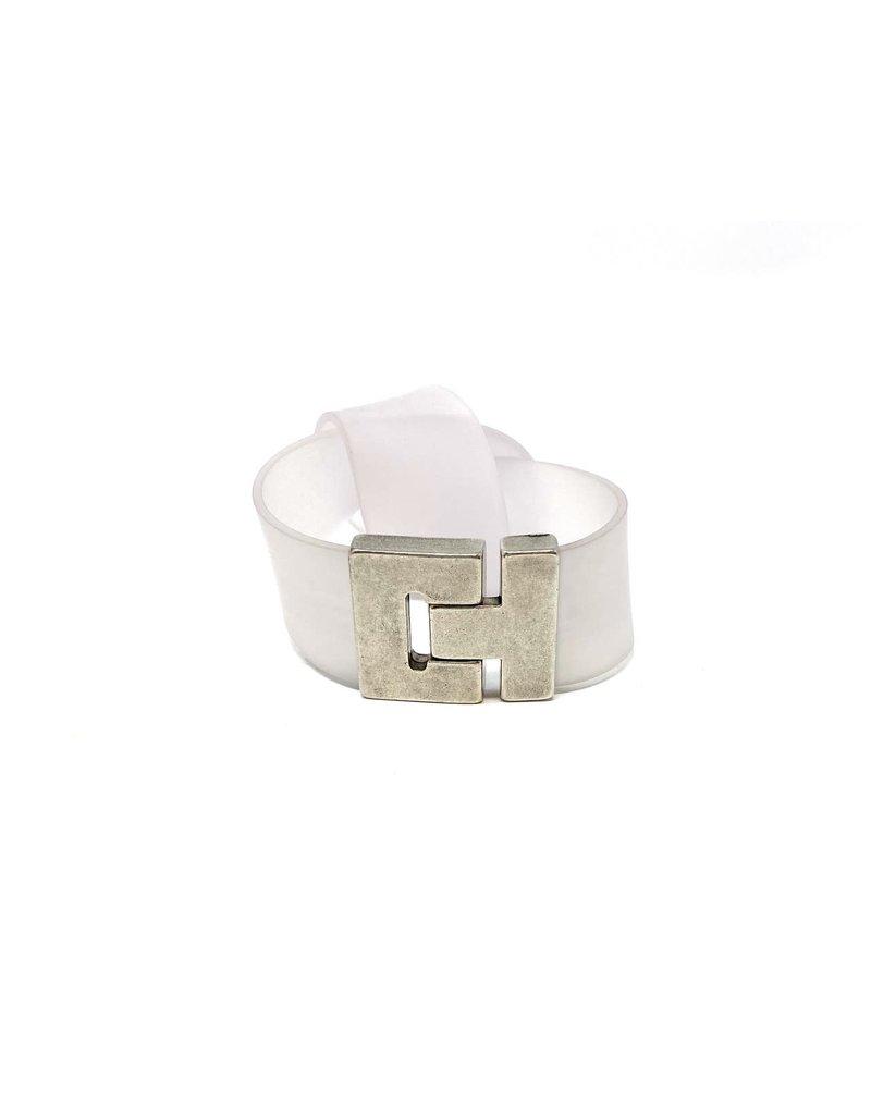 Rubber Soft Knot Ribbon Bracelet, Samuel Coraux