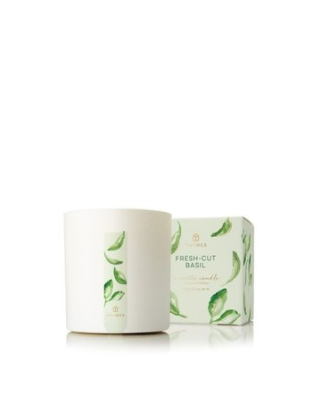 Thymes Fresh-Cut Basil Poured Candle