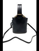 Moeko Vegan Crossbody Bag, Black