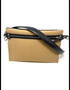 Italian Dual Color Crossbody Bag