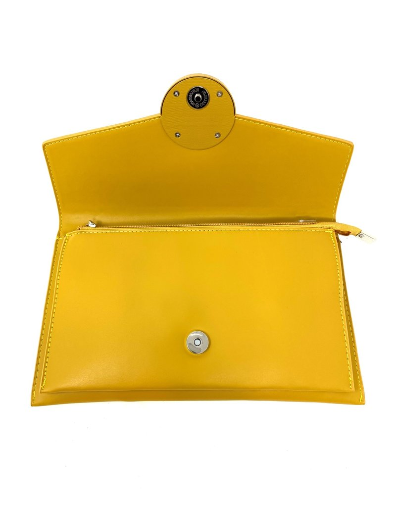 Clutch Bag, Yellow