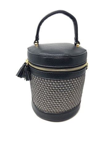 Inez Shoulder Bag, Black