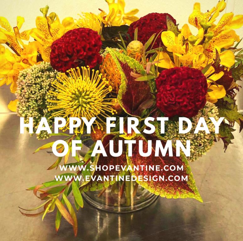 Fresh Flower Arrangements to Welcome Autumn