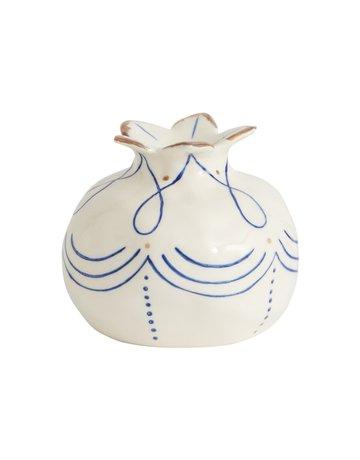 Pomegranate Ceramic Bud Vase