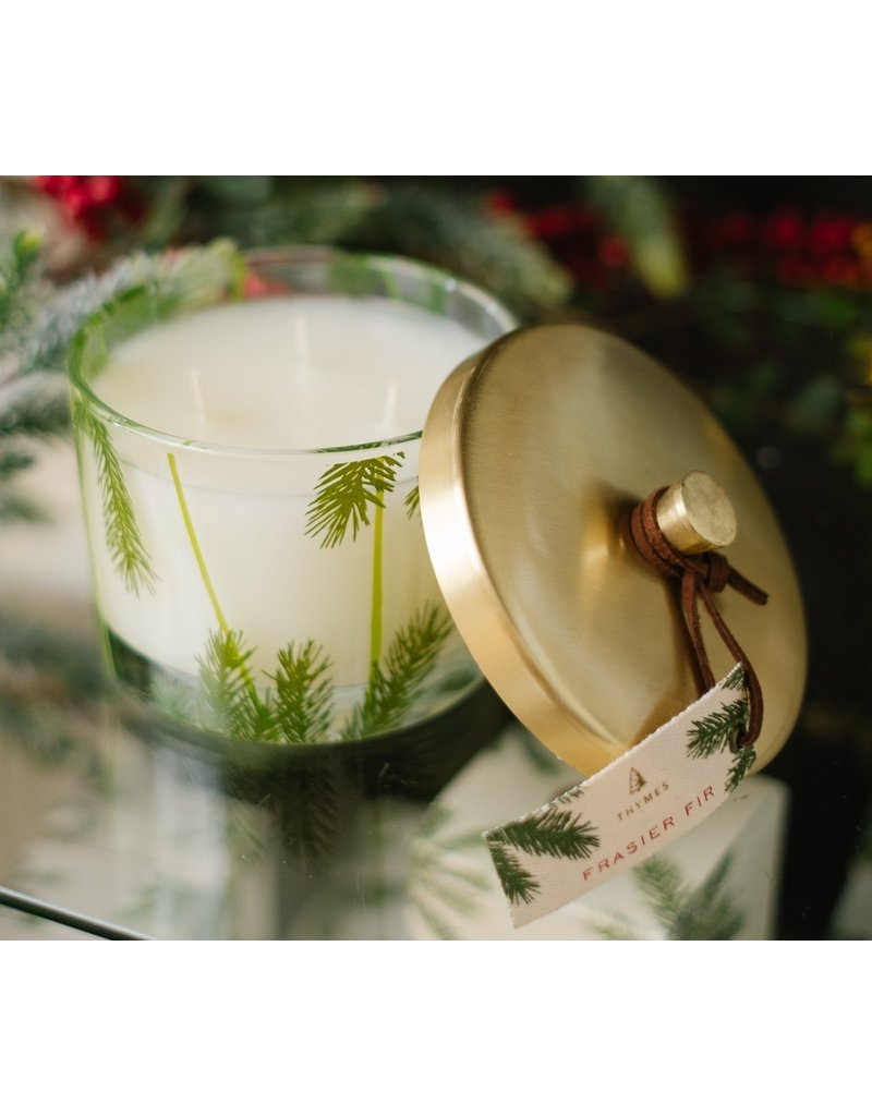 Thymes Frasier Fir Heritage Pine Needle 3-Wick  Candle