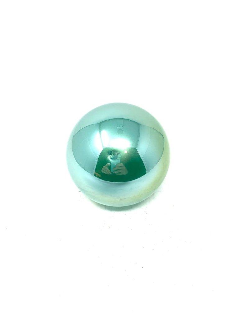 "4"" Blue Pearl Ball Ornament"