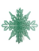 "8.75"" Glitter Snowflake Ornament"