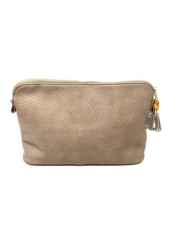 FLORENCE, Sabrina Cosmetic Bag, Taupe