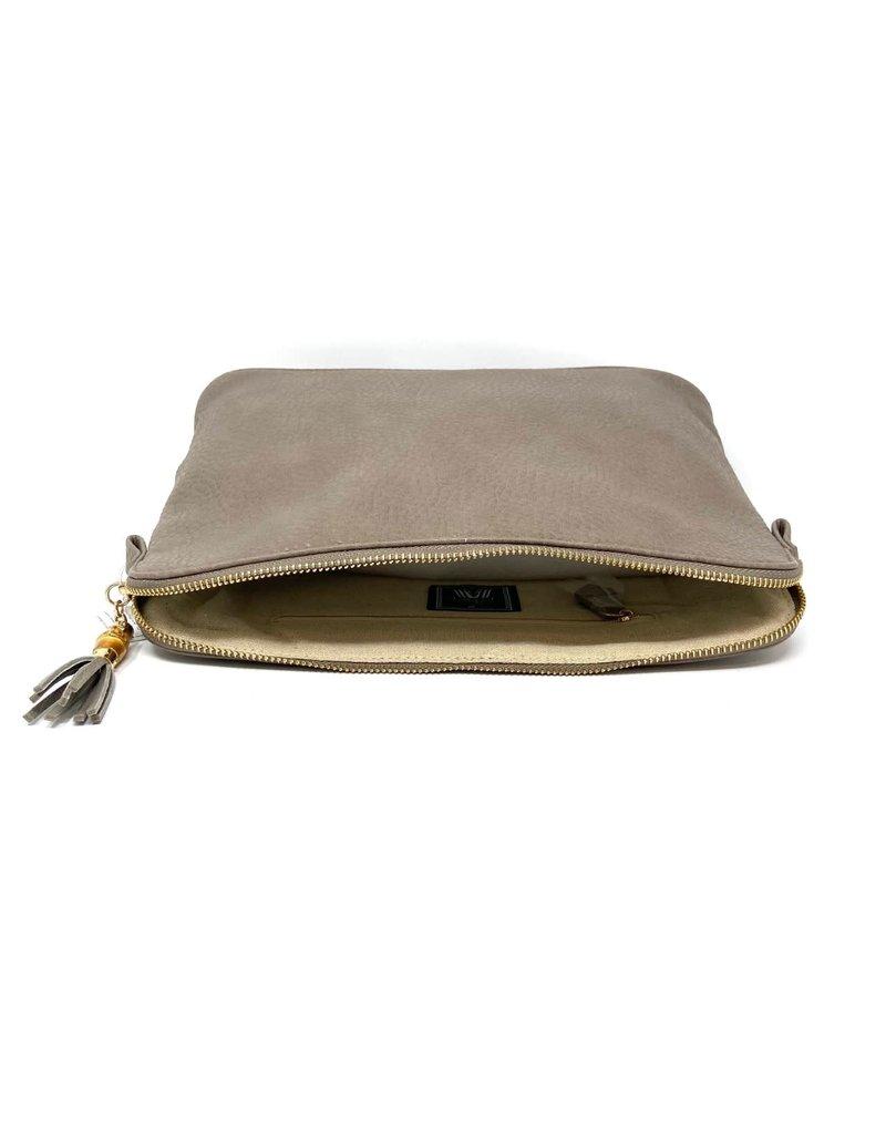Sabrina Cosmetic Bag, Taupe