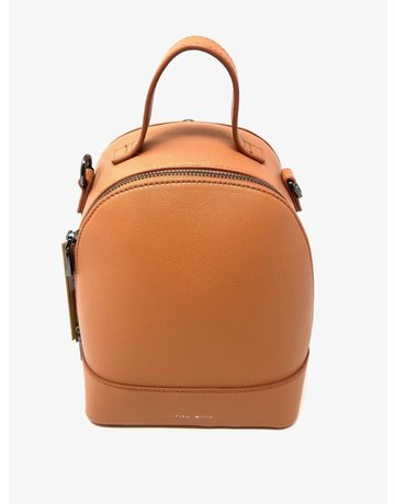 Cora Small Vegan Backpack, Caramel