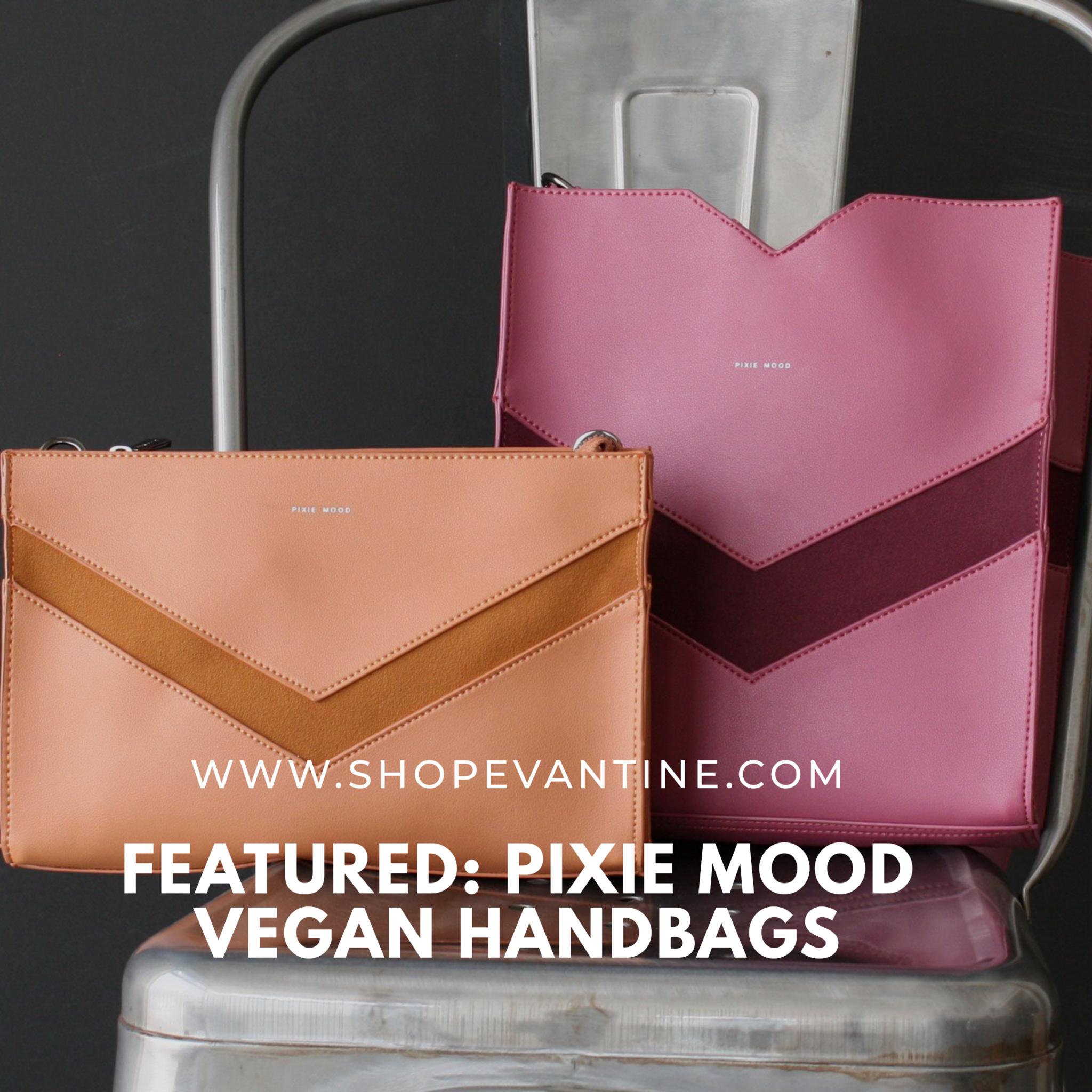 Featured: Pixie Mood Vegan Handbags