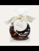 Dark Chocolate Fleur de Sel Pretzels