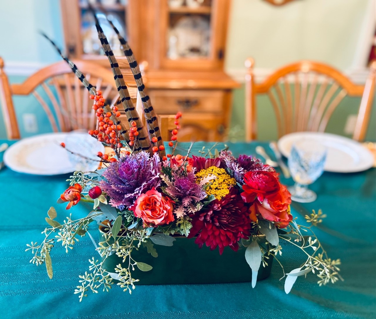 For Your Table: Thanksgiving Flowers