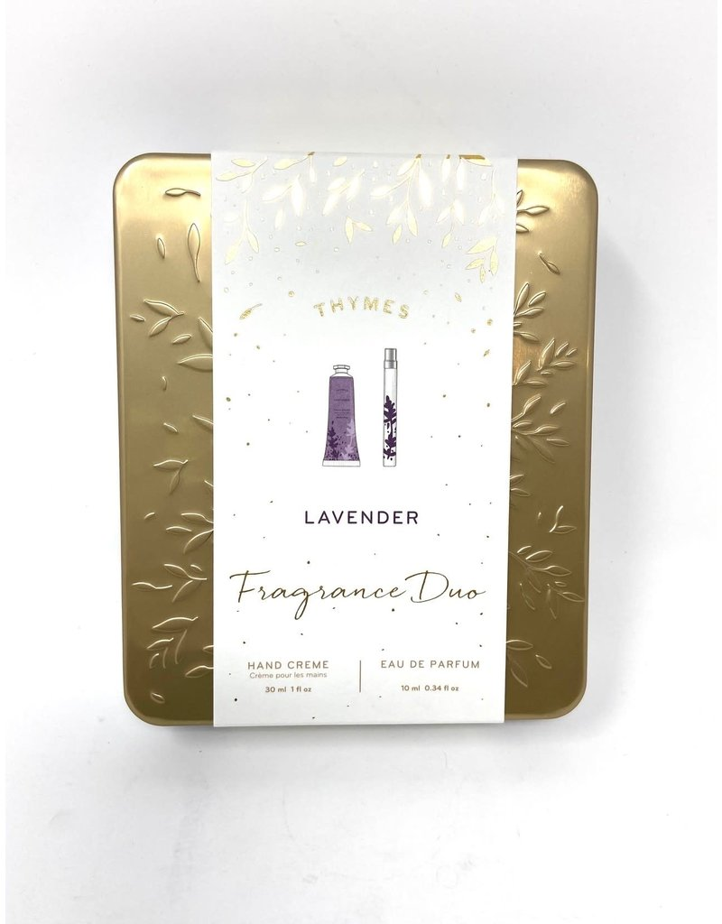 Thymes Lavender Fragrance Duo