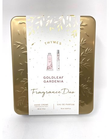 Thymes Goldleaf Gardenia Fragrance Duo