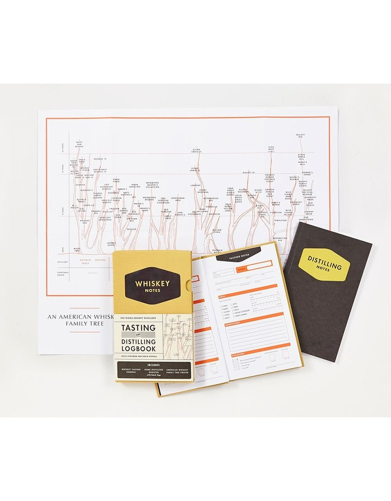 The Kings County Distillery: Whiskey Notes,Tasting and Distilling Logbook