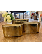 Polished Metal Container, Large