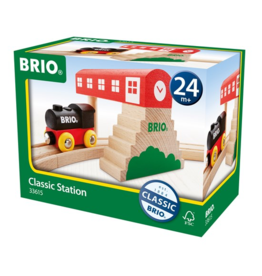 Brio Classic Bridge Train Station