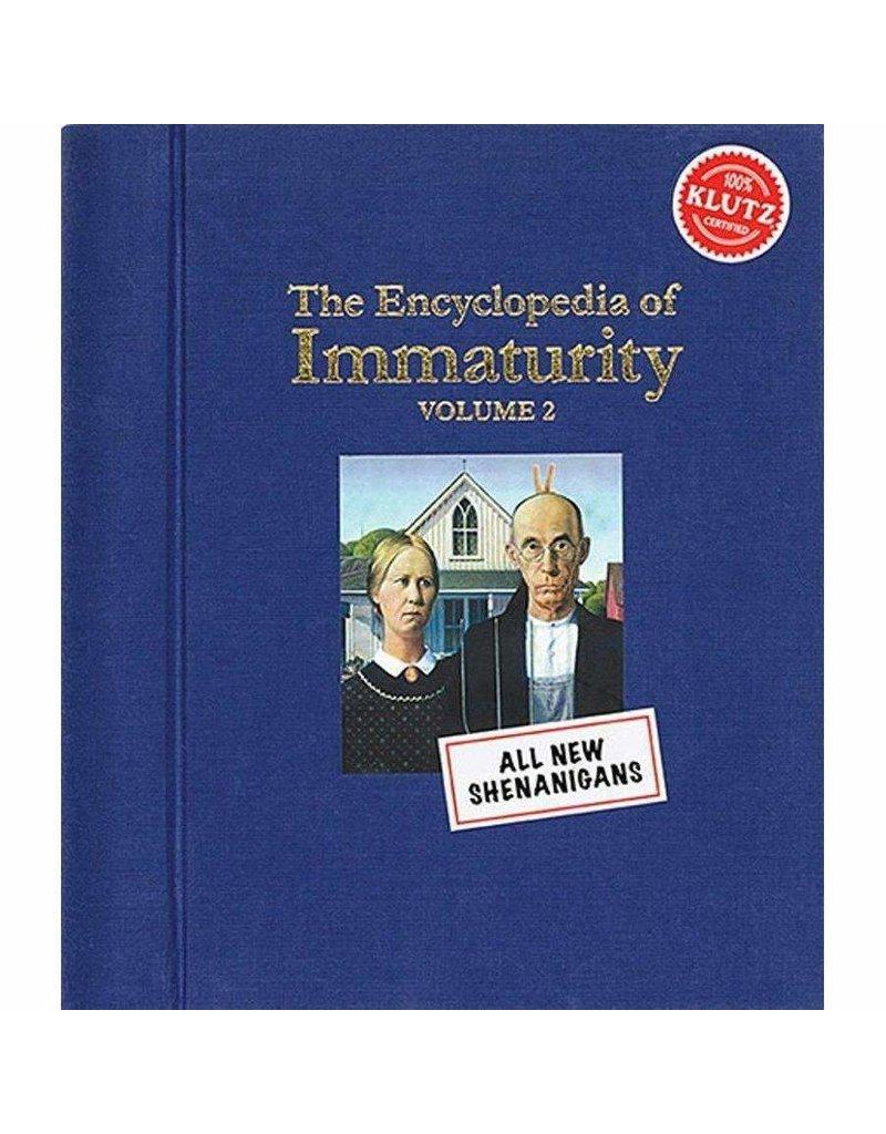 Klutz ENCYCLOPEDIA OF IMMATURITY: VOL. 2 (M)