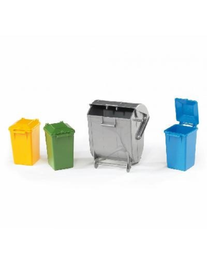 Bruder Accessory: Trash Cans
