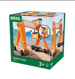 Brio Wooden Gantry Crane