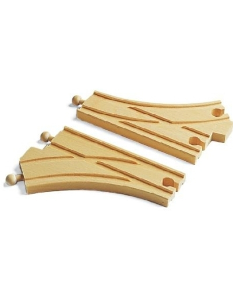Brio Curved Switching Train Track