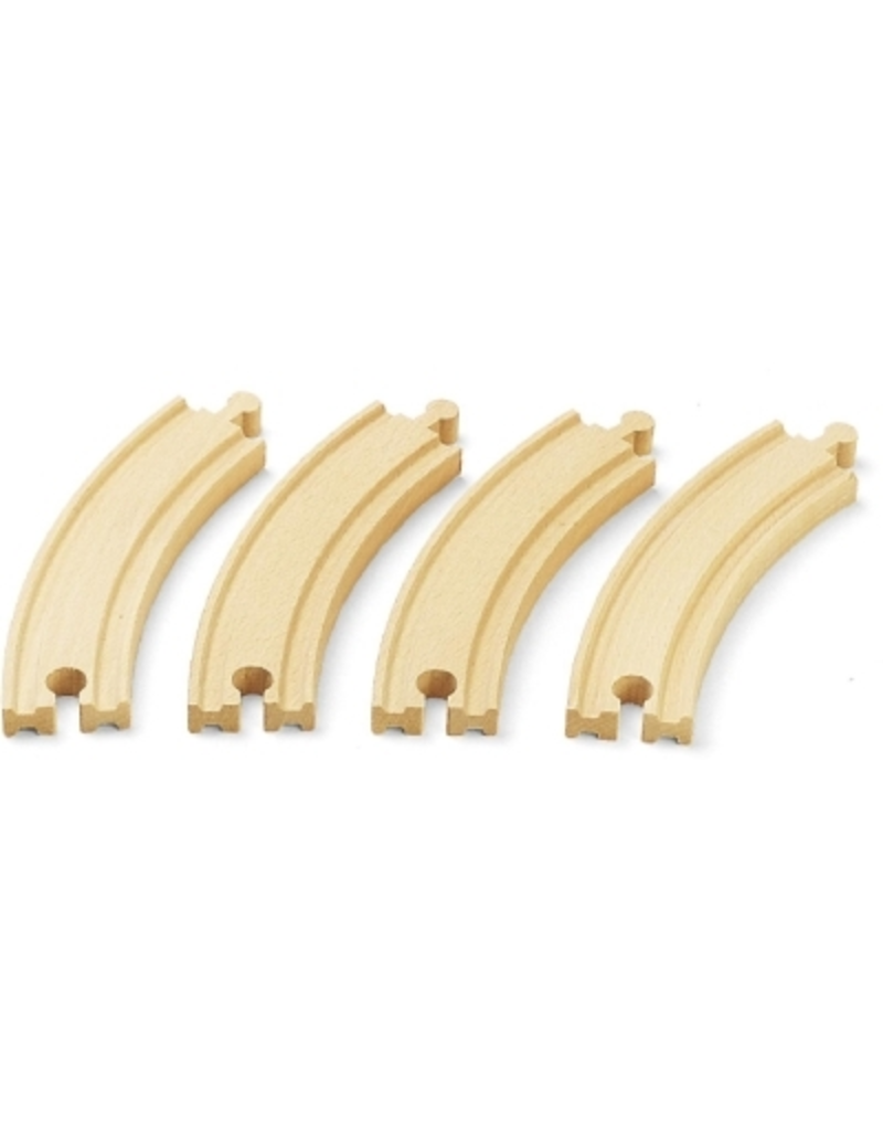 Brio Large Curved Train Track