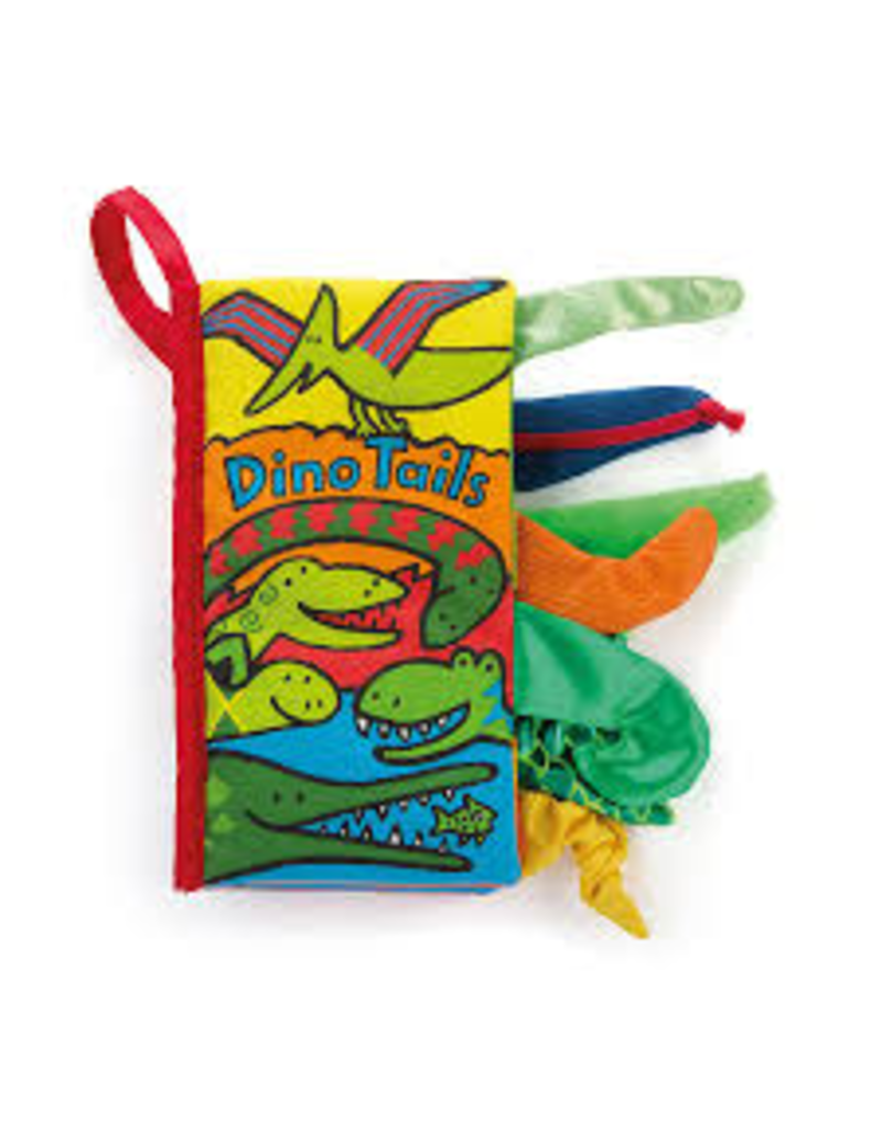 Jellycat Tails Book: Dino