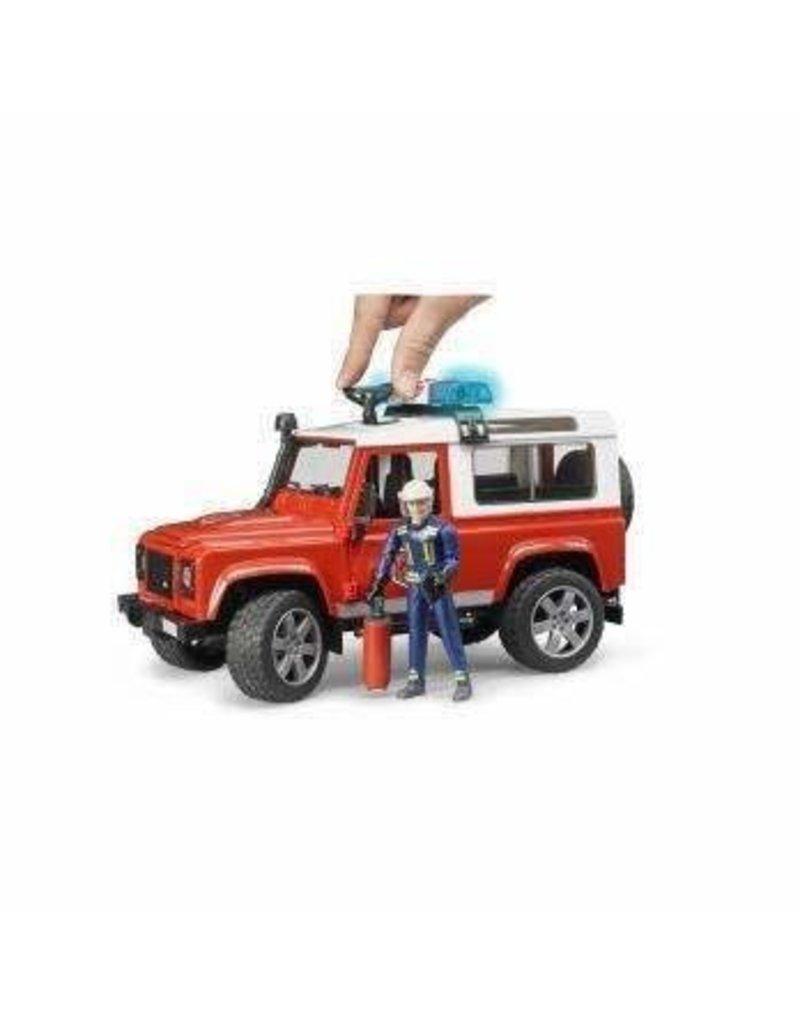 Bruder Fire: Defender Wagon