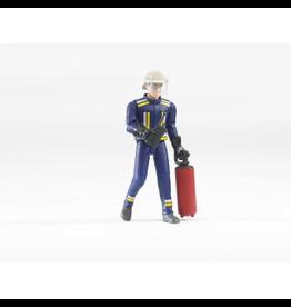 Bruder Fireman w/Accessories