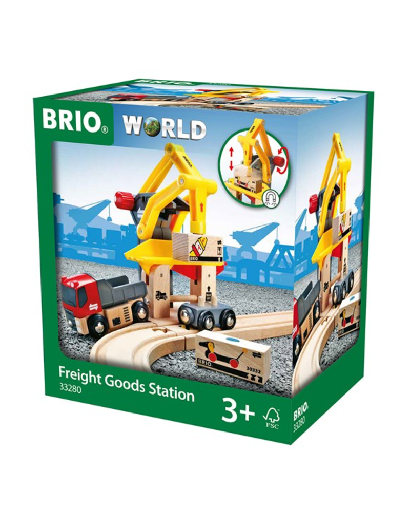 Brio Freight Goods Train Set