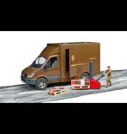 Bruder UPS Truck w/Forklift