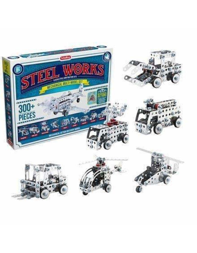 Schylling Steel Works Multi Model Set