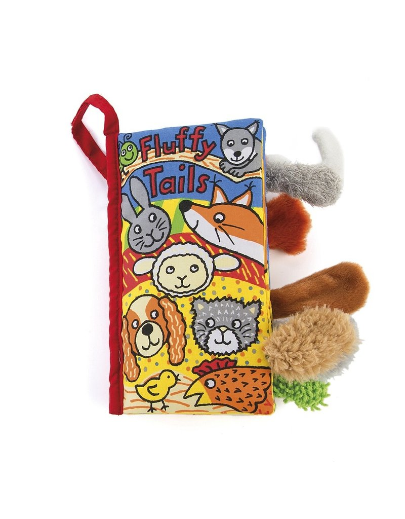 Jellycat Tails Book: Fluffy