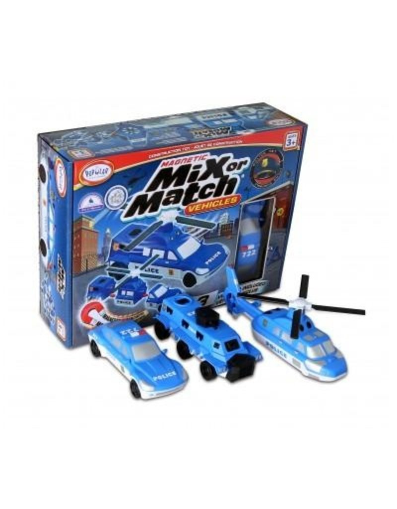Popular Playthings Mix or Match Vehicles Police