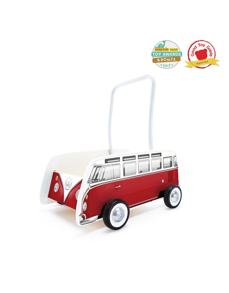 Hape VW Classic Bus Walker: Red