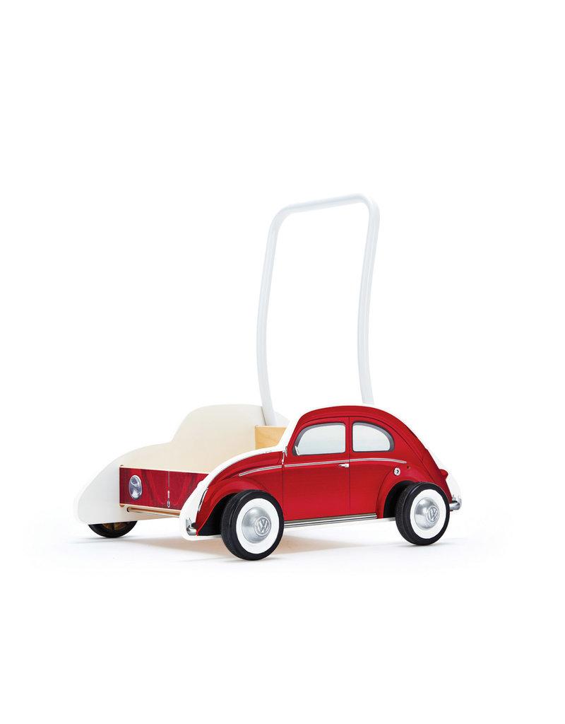 Hape VW Beetle Walker: Red