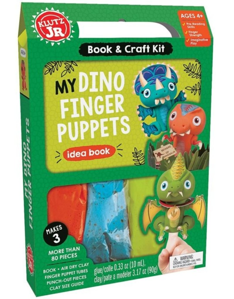 Klutz My Dino Finger Puppet