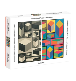 Hachette 500pc: 2 Sided Distorted Cubes