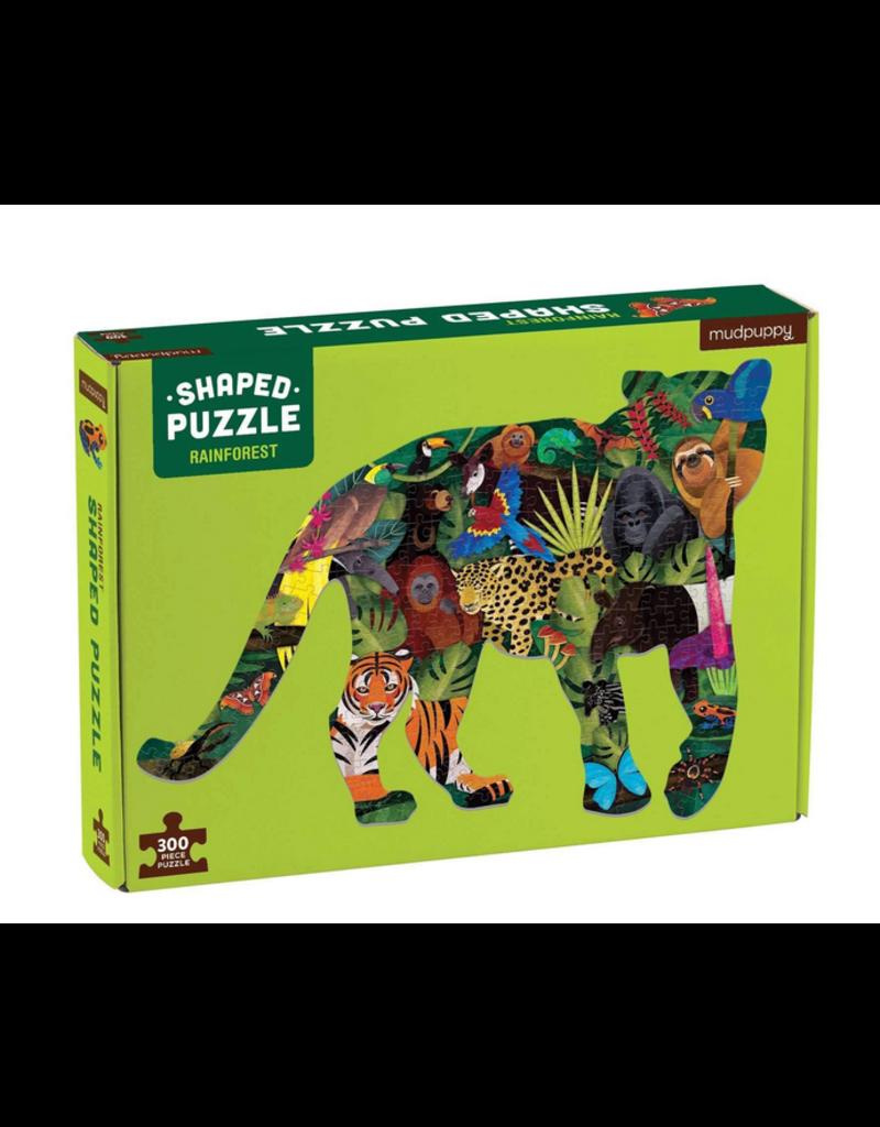 Hachette 300pc: Shaped Scene Rainforest Puzzle