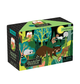 Chronicle 100 Pcs: Glow Puzzle - In The Forest Puzzle
