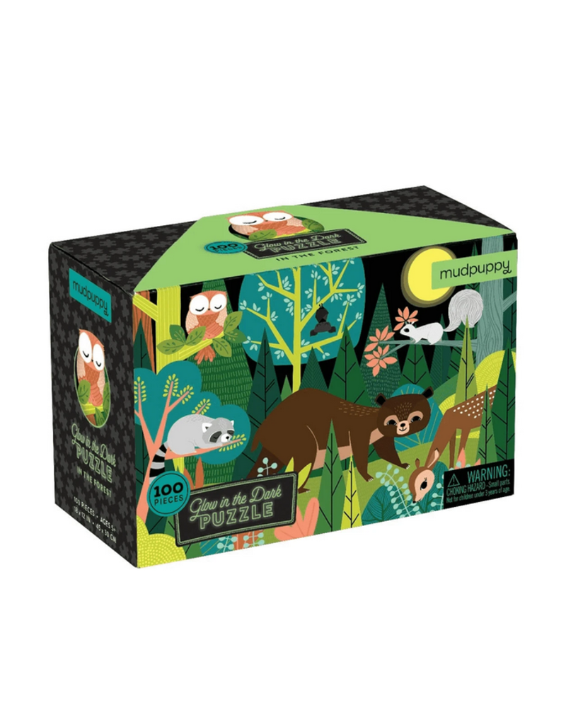 Chronicle Glow Puzzle: In The Forest Puzzle, 100 pcs